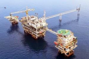 Ilustrasi sumur minyak.