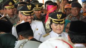 PRO RAKYAT : Kepemimpinan Neneng Yasin dan Rohim Mintareja (NERO) di klaim Ketua Fraksi Demokrat DPRD Kabupaten Bekasi, Taih Minarno masih peduli dan pro rakyat. DOK/RADAR BEKASI