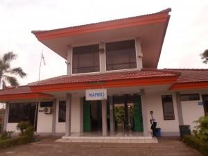 MASIH SEPI: Stasiun Nambo di Desa Bantarjati, Kecamatan Klapanunggal, masih sepi dari aktivitas keluar-masuk penumpang sejak dibuka 1 April 2015