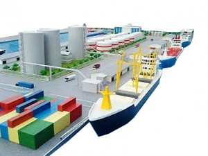 Ilustrasi Pelabuhan Cilamaya.