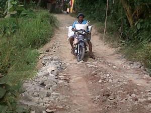 Jalan rusak, infrastruktur