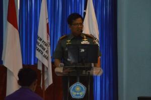 Komandan Korem 061 Sk, Kolonel Inf  Fulad