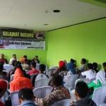 Dinas Pemuda Olahraga Pariwisata dan Ekonomi Kreatif (Disporaparekraf) Kota Sukabumi saat memberikan Pelatihan