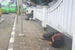 Orang gila menjamur di Kota Sukabumi
