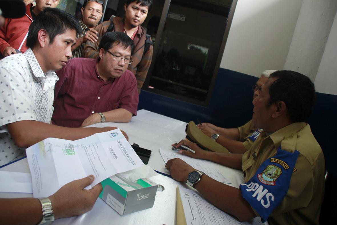 Ilustrasi operasi yustisi di Kota Bekasi. (Dok. Radar Bekasi)