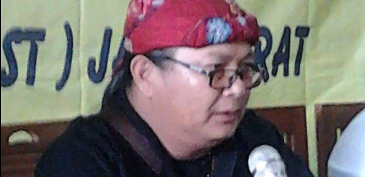 Ketua Umum LSM Terima Rorongsokan Istimewa (Terorist) Jawa Barat, Tatan Sopian