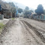 INFRASTRUKTUR : Kondisi Jalan Cidadap, Simpenan saat diperbaiki beberapa waktu lalu.
