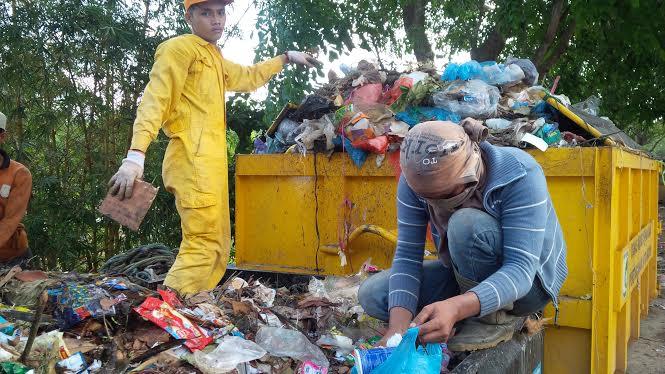 Sampah di Cimahi (Ilustrasi)