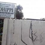 SEPI: Plang Kohippi terpampang di gerbang masuk kantornya di Jalan Karamat, Kecamatan Gunungpuyuh, Kota Sukabumi.