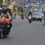 pemudik sepeda motor, jalur pantura
