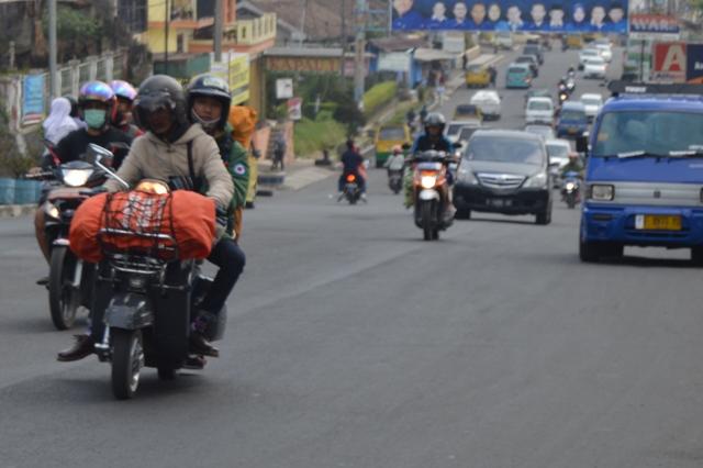 ILUSTRASI: Pemudik Sepeda Motor