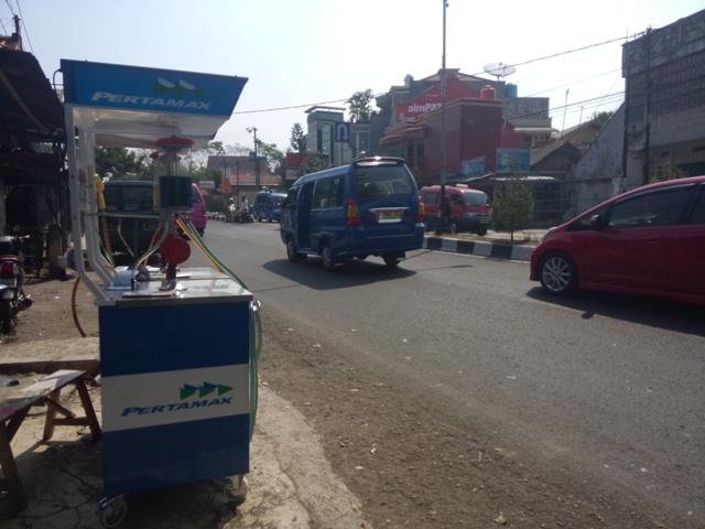 Pertamax mini di Cianjur