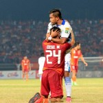 Persib Bandung vs Pusamania Borneo FC (ilustrasi)