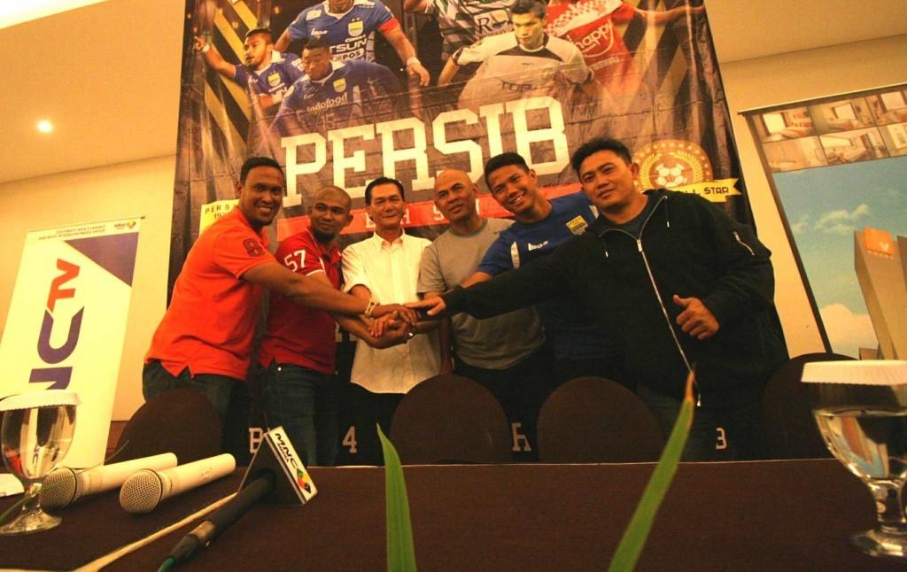 Preskon Persib Vs Malaysia All Star (Khairizal Maris)