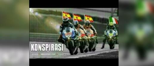 Meme MotoGP Valencia antara Juara Dunia Lorenzo dan Rossi (1)