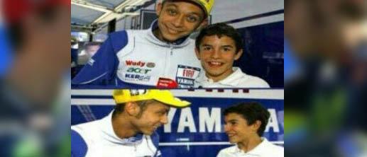 Meme MotoGP Valencia antara Juara Dunia Jorge Lorenzo dan Rossi