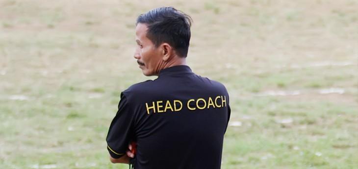 Djajang Nurjaman ketika jadi Pelatih Persib Bandung. (doc)