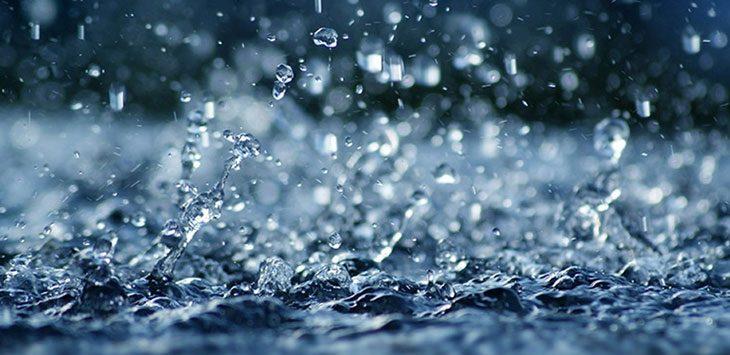 Ilustrasi Hujan .