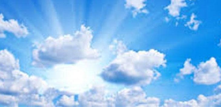 cuaca cerah berawan akan menyelimuti depok hari ini (ilustrasi)