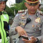 pembayaran denda tilang di Cirebon dapat melalui  aplikasi android (ilustrasi)