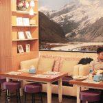 SENSASI BEDA: Boogie Snow Ice resmi luncurkan Boogie Manggo dessert yang terinspirasi dari Negeri Gajah Putih. MELDRICK / RADAR BOGOR