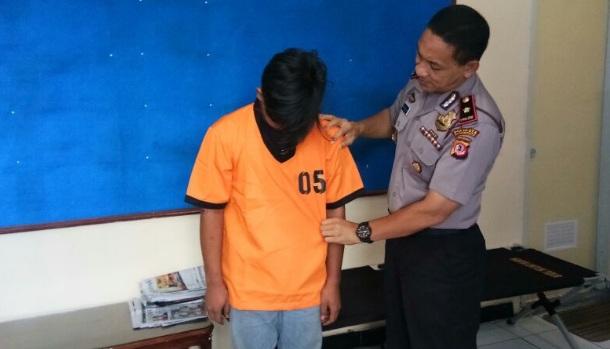 Ketua Geng Jambu Dua Street ditangkap polisi.
