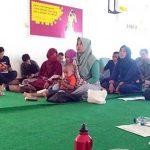 SEMINAR: Salah satu pembicara Coach Agustina hadir mengisi materi di acara Gerakan Mentoring Sukabumi Kota Berdaya di aula Kantor Indosat Lantai 4 Kota Sukabumi Kamis (19/10/17).