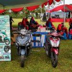 Demi memanjakan konsumen setia, Dealer Yamaha Putera Agung Bubulak, Kota Bogor mengelar promo dengan beragam hadiah menarik.