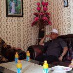 SILATURAHMI: Bakal calon wakil bup ati Bogor Iwan Setiawan mengunjungi tiga ulama Bogor, sekasa (16/1/18).