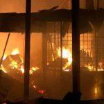 Pasar Rawakalong Kabupaten Bekasi Terbakar