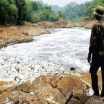 KOTOR: Sungai Citarum dalam beberapa waktu terakhir menjadi sorotan nasional bahkan dunia internasional lantran kualitas airnya tercemar. Ist