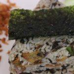 Jumeokbap,nasi kepal Jepang yang diminati lidah orang Indonesia. Foto: Apridista Siti Ramdhani/Radar Cirebon