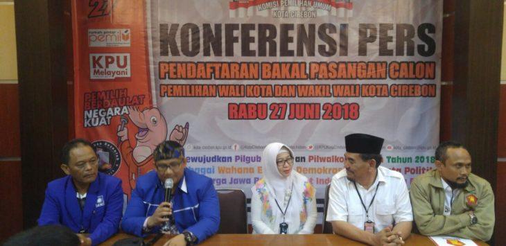 KPUD Kota Cirebon menolak pendaftaran yang dilakukan Gerindra-PAN untuk bakal Cawalkot.