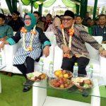 BOGOR - Bakal pasangan calon Bupati dan Wakil Bupati Bogor Ade Yasin dan Iwan Setiawan (Ade-Iwan) kembali menggelar Silatutahim Akbar di Lapangan Sepak Bola SD Gunungsindur