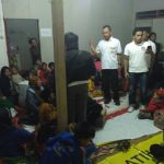 Tim Paramedis Sahaja membantu korban gempa di Kecamatan Nangung, Kabupaten Bogor, Selasa (23/01/2018)./Foto: Istimewa