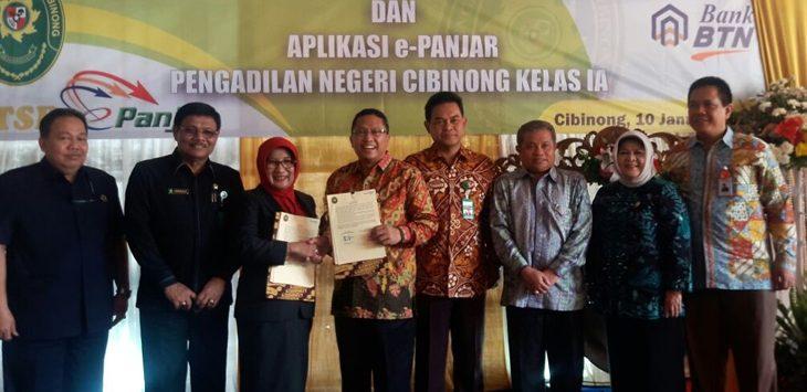 Pengadilan Negeri(PN)Cibinong /Foto: Ikhsan