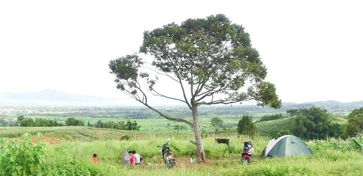 Bukit Jaling Warungkondang Cianjur