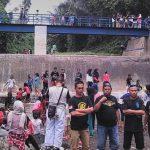 TEMPAT WISATA: Warga saat menikmati wisata alam di Alam Curug Dauan
