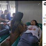 Siswa SMKN 1 Tanggeung menjadi korban gempa Lebak-Banten.