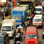 Kemacetan Seringkali Terjadi di Jalan Raya RE Martadinata, Cikarang Utara, Kabupaten Bekasi./Foto: Istimewa
