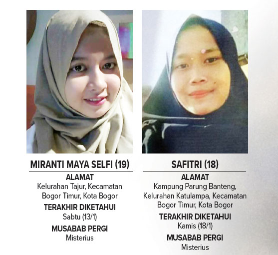 Dalam Sepekan Dua Gadis Warga Kota Bogor Hilang Pojokbogor Com