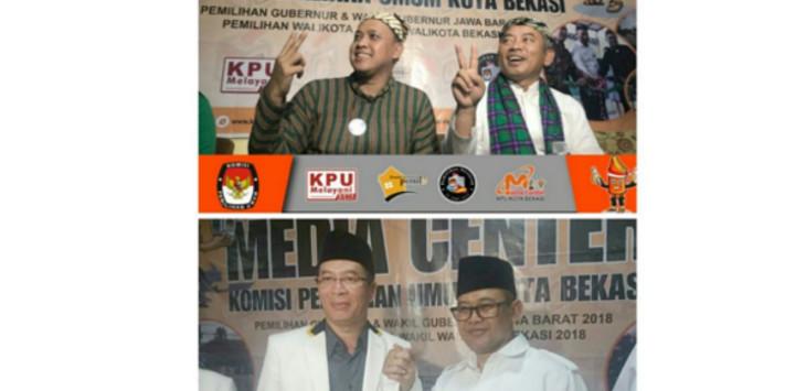 Pilkada Kota Bekasi Diikuti Dua Bakal Calon Pasangan./Foto: KPU Kota Bekasi
