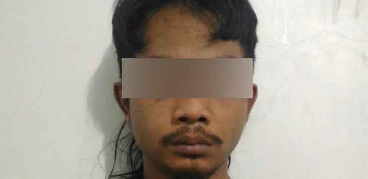 pelaku penyalahgunaan narkotika jenis sabu (20/1)./Foto: Humas Polres Purwakarta