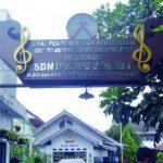 TINGGAL KENANGAN: Gedung SDN Ibu Jenab I, yang saat ini sudah direlokasi. Ibu Jenab merupakan sosok pejuang pendidikan di Cianjur.