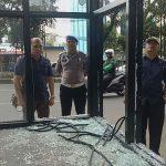 Shelter Trans Pakuan kembali dirusak, kali ini di Jalan Pajajaran, Kota Bogor. Foto: Dhoni