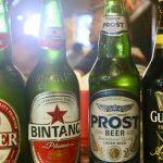 Beberapa merk minuman keras diringkus Polresta Bogor./Foto: Humas Polresta Bogor