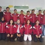 Terbang ke Bali 10 atlet TI Kota Cirebon akan mengikuti kejuaraan Bali Open Taekwondo Tournament. Foto: Dede/pojokjabar