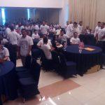 Suasana tempat berlangsungnya acara saat Paslon memilih walkout Foto: Dede/pojokjabar
