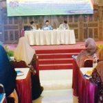 BIMBINGAN: FKUB Depok menggelar bimbingan rohani terhadap para penyuluh dari lintas agama di kawasan Cilodong, rabu (14/2/18). Mahendra/Metro Depok