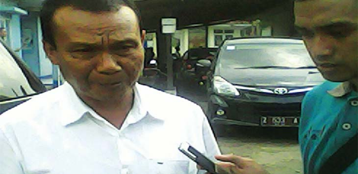H. Dedi Suhayat Ketua PGRI Sumedang
